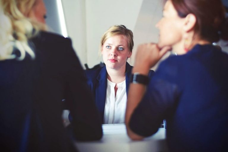 HR Manager Leading a Meeting