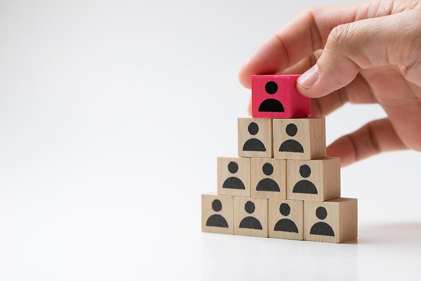 Leadership Development Solutions Pyramid