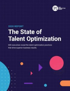 2020 State of talent optimization report