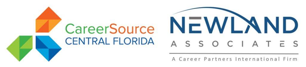 Newland CareerSource CFL logos