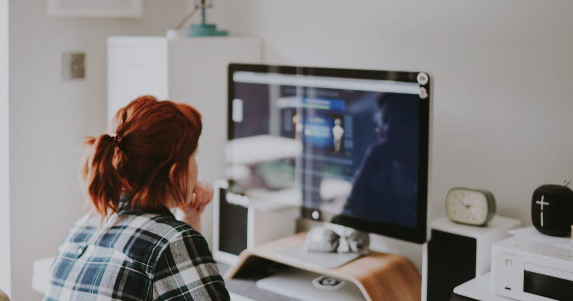 Employee Browsing Online