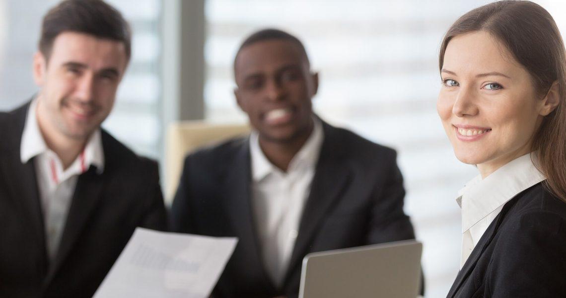 Three Successful Employees